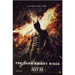 Batman The Dark Knight Rises – Signed Movie Poster