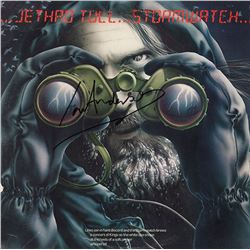 Ian Anderson Signed Jethro Tull Stormwatch Album