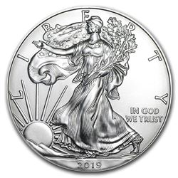 2019 1 oz American Eagle Silver Coin