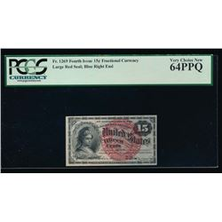 15 Cent Fractional Currency Note PCGS 64PPQ