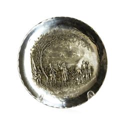 Limited Edition 1972 Landing of Columbus Plate by America House