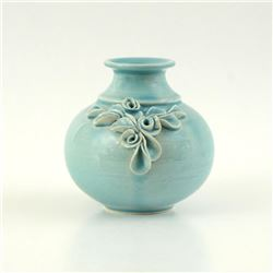 Hand Made Ceramic Vase by Tamosiunas, Eugenijus