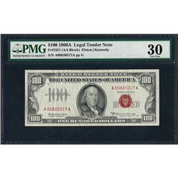 1966A $100 Legal Tender Note Fr.1551 PMG Very Fine 30