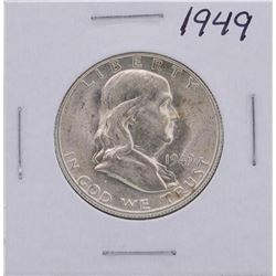 1949 Franklin Half Dollar Coin