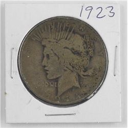 1923 USA Peace Dollar
