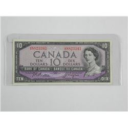 Bank of Canada 1954 10.00 'EF'. (Modified Portrait