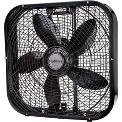 Holmes 20-Inch Box Fan- Black