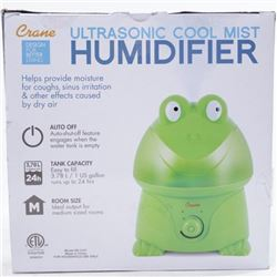 Crane Ultrasonic Cool Mist Humidifier Clean Contro