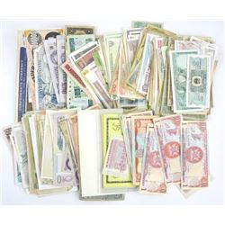 """Estate"" Lot of World Paper Currency (as found)."