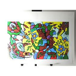 Norval Morrisseau (1931-2007) 'Remembering The Sum
