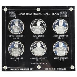 1992 USA Basketball Team Coin Set, Matched Number