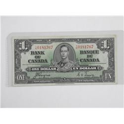Bank of Canada 1937 1.00 (EF+) C/T