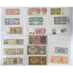 Estate World Bank Note Collection