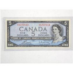 Bank of Canada 1954 $5.00 M.P Choice UNC.