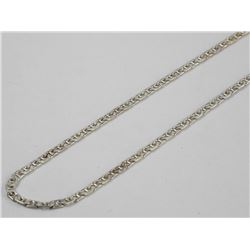 "925 Silver - Necklace 16"" GUCCI Link"