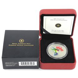 2007 25 Cent Coin 'Ruby Throated Hummingbird' SOLD OUT. LE/C.O.A. (AR)