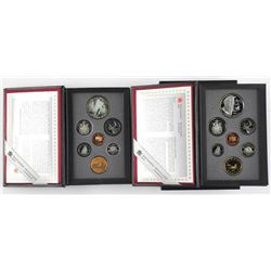 Lot (2) RCM Proof Coin Sets 1993 and 1995