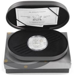 925 Silver $20.00 Proof Coin '2002 William D. Lawrence' Coin with C.O.A.