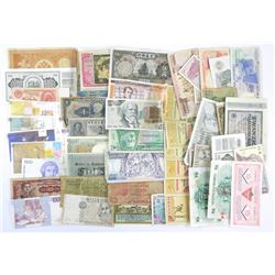 Estate Lot - Paper Currency Mix World