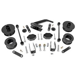 "Rough Country 2.5"" Suspension Lift Kit for 07-18 Jeep Wrangler and Wrangler Unlimited JK - 635, $287"