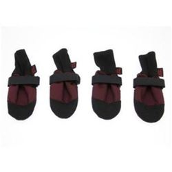Muttluks Inc ML-WWXLBUR Woof Walkers 4.25-Inch to 4.75-Inch Dog Boots- X-Large- Burgundy- Set of 4