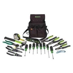 Greenlee 0159-23 Journeyman's Tool Kit- Metric- 21-Piece