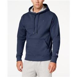 Champion Men's Powerblend Pullover Hoodie- Navy- Small