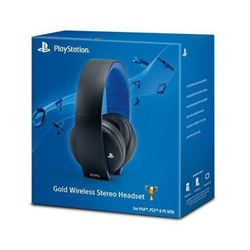 PlayStation 4 Gold Wireless Stereo Headset - Gold Wireless Headset Edition