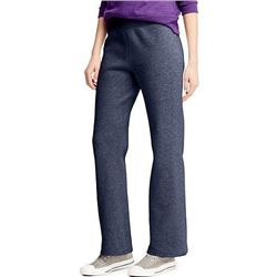 Hanes Women's Petite-Length Middle Rise Sweatpants - Small - Hanes Navy Heather