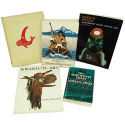 5 NW Coast Collector Books