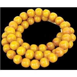 Copal  Amber Trade Beads
