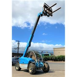 2012 Genie GTH5519 19-Foot Shooting Boom Forklift 5500K, 1511 Hours (Runs & Works, See Video)