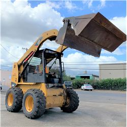 2013 CAT 236B3 Skidsteer, 760 Hours (Runs