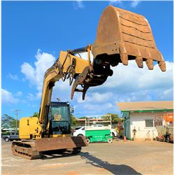 2013 Cat 308E2CR  Excavator 18,500 lb Capacity, 2093 Hours (Runs, Works, See Video)