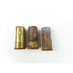 577 DCF TYPE # PRODUCTION INTENDED 1887-1892, DIXON FOIL CASE, SINGLE INNER BASE CUP AMMO