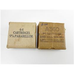 A360 9MM AMMO AND 9MM PARABELLUM AMMO