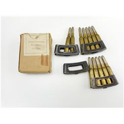 6.5MM AMMO ASSORTED ON STRIPPER CLIPS