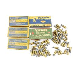 .38 SMITH & WESSON AMMO, AND BLANKS