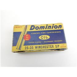 25-35 WINCHESTER SP AMMO