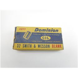 32 SMITH & WESSON BLANKS