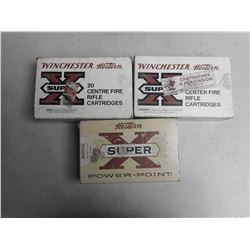 ASSORTED 300 WINCHESTER AMMO