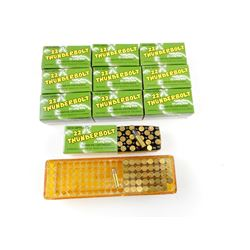 ASSORTED 22 LONG RIFLE AMMO