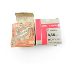 6.35MM AMMO ASSORTED