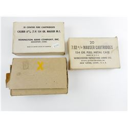 7.9MM ASSORTED AMMO