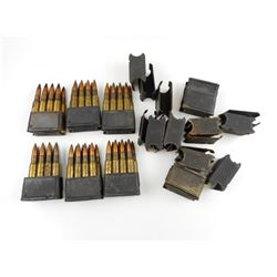 7.9MM AMMO, WITH EXTRA CLIPS
