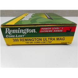 300 REMINGTON ULTRA MAG. AMMO