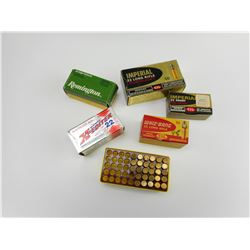 ASSORTED 22 LR, AND 22 SHORT AMMO