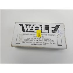 9MM WOLF RELOADED AMMO