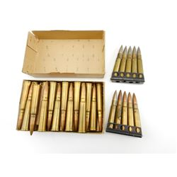 .303 ASSORTED AMMO, SOME ON STRIPPER CLIPS