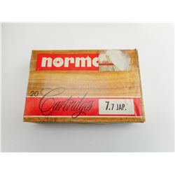 NORMA 7.7 JAP. AMMO